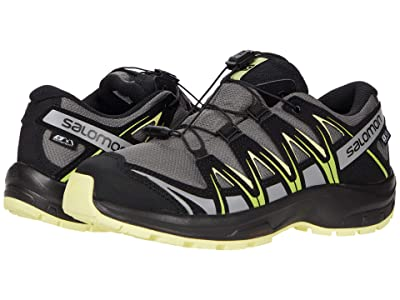 Salomon Kids Xa Pro 3D Cswp (Little Kid/Big Kid) (Gargoyle/Black/Charlock) Kids Shoes