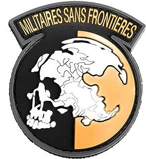 Metal Gear Solid Peace Walker PVC Logo Patch