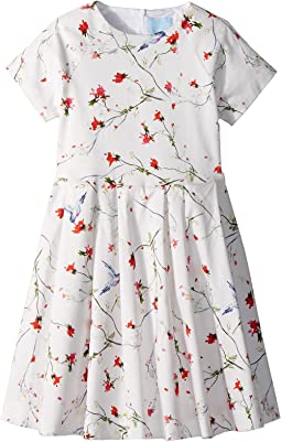 Bloom Short Sleeve Dress (Little Kids/Big Kids)