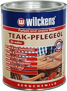Wilckens teak Pflegeöl, farblos, 1 Liter 16700100060 Werkzeug