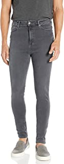 Nudie Unisex Hightop Tilde Concrete Grey Jeans