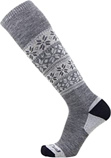 Alpaca Ski Socks – Warm Wool Ski Sock for Men and Women – Skiing, Snowboarding