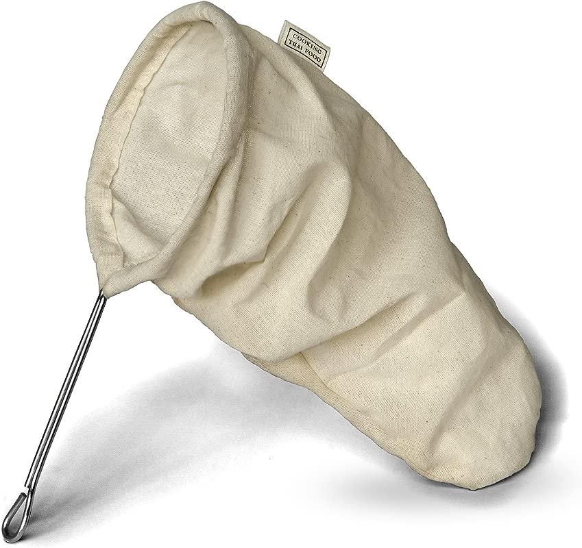 Nut Milk Bag Strainer With HandleTwist