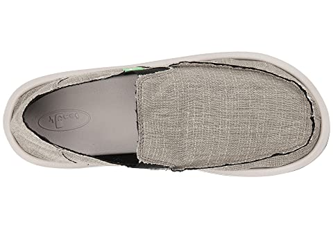 Sanuk Vagabond Grain Slub Grey Cheap Sale Low Cost Free Shipping Official Best Prices Sale Online Sale Get To Buy Cheap Price Pre Order 1t9Mq