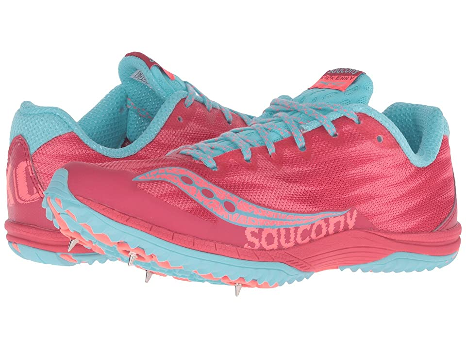 Saucony Kilkenny XC Spike (Berry/Light Blue) Women