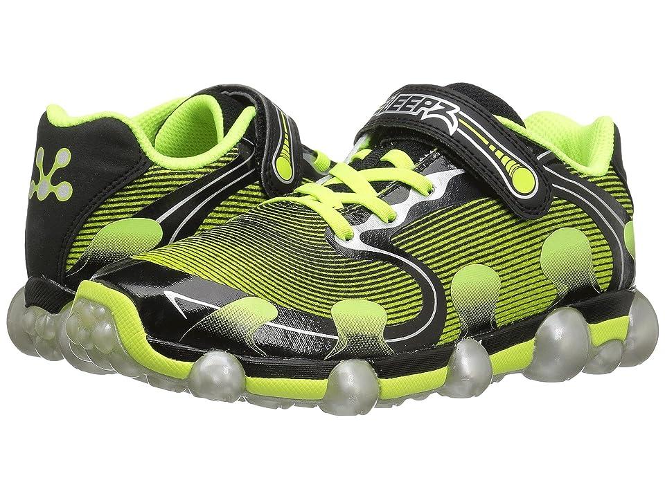 Stride Rite Leepz 2.0 (Toddler/Little Kid) (Black/Citron) Boys Shoes