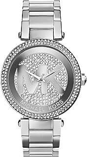 Michael Kors Mid-Size Stainless Steel Parker Analog Glitz Watch