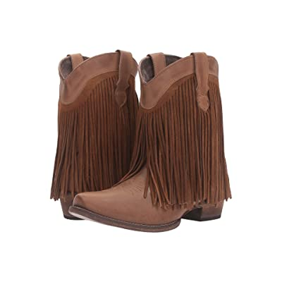 Roper Dylan (Tan Leather) Cowboy Boots