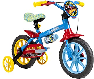 Bicicleta Caloi Hot Wheels Aro 12