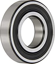 SKF 6207-2RS1/C3 Radial Bearing, Single Row, Deep Groove Design, ABEC 1 Precision, Double Sealed, Contact, C3 Clearance, Steel Cage, 35mm Bore, 72mm OD, 17mm Width, 15300lbf Static Load Capacity, 25500lbf Dynamic Load Capacity