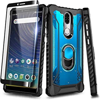 "NageBee Case for Coolpad Legacy 6.36"" (2019) 3705A with Tempered Glass Screen.."