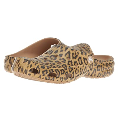 Crocs Freesail Graphic Clog (Leopard) Women