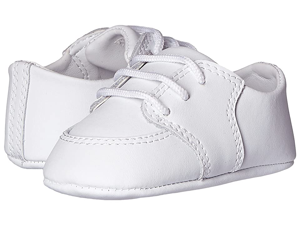 Baby Deer Dress Oxford (Infant) (White) Boys Shoes