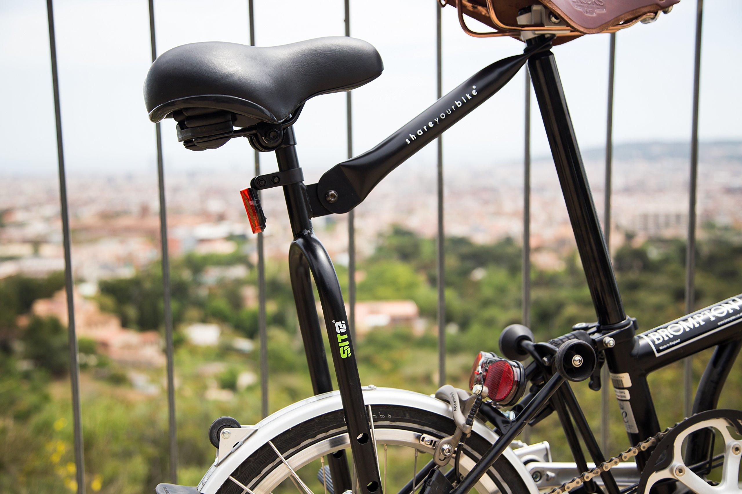Segundo sillín para cualquier bicicleta: Amazon.es: Deportes y ...