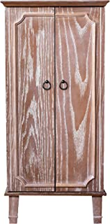 wooden jewelry armoire