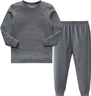 Sponsored Ad - AMGLISE Boys Girls Cotton Pajamas Set Kids PJS Toddler Sleepwear
