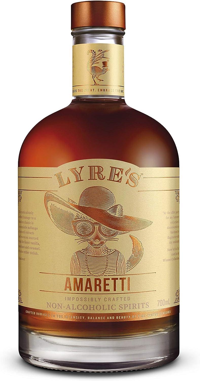 Lyre's Amaretti Bebida espirituosa sin Alcohol - Estilo Amaretto | Premiado | 700ml