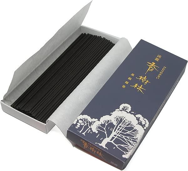 Gyokushodo 日本檀香香插 Tanrei Kojurin 少烟型中号装 5 英寸 95 支装日本制造