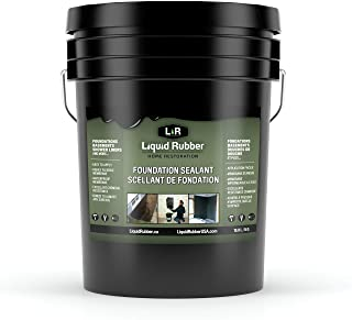 Liquid Rubber Foundation and Basement Sealant – Indoor & Outdoor Use –..