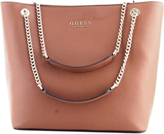 Luxury Fashion | Guess Womens HWEV7180230COGNAC Brown Tote | Fall Winter 19