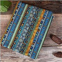 DIY Naaiende stof brons Nigeria bedrukte katoenen stof met een half yards voor tafelkleed of achtergronddecoratie voor naa...