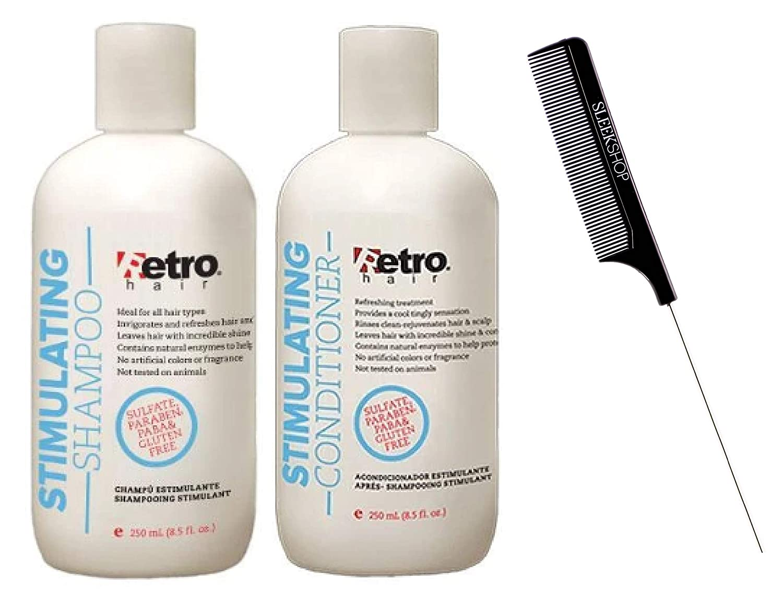 Retro Hair 輸入 Stimulating Shampoo Conditioner SET Pepper 倉庫 KIT DUO