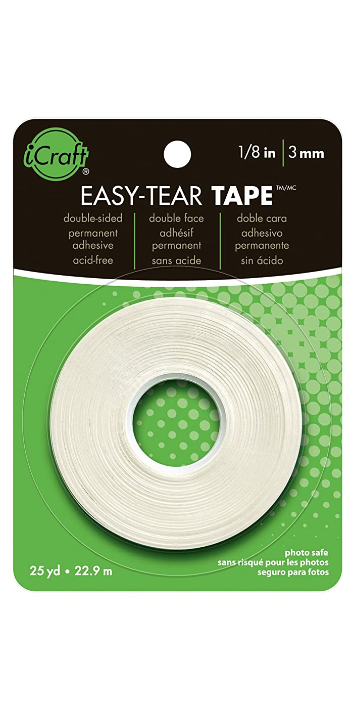 iCraft 219625 Easy-Tear Tape.125