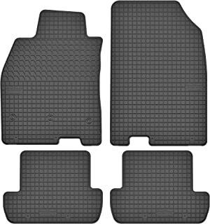 Gummimatten Fußmatten 1.5 cm Rand  RENAULT MEGANE II Bj. 2002-2009 4-teile Set