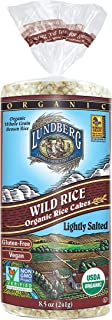 Lundberg Rice Cakes, Wild Rice, 8.5 Ounce (Pack of 6), Organic