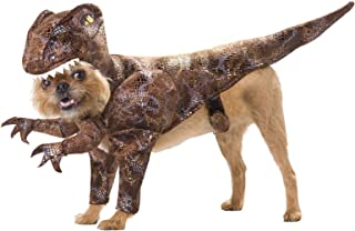 TAN/Brown_Raptor Dog Costume