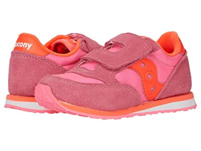 Saucony Kids Originals Baby Jazz HL (Toddler/Little Kid) (Pink/Red) Girl