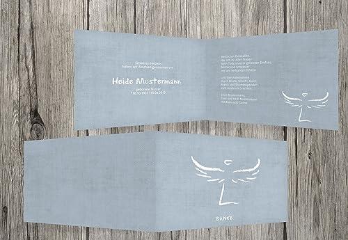 ahorra hasta un 30-50% de descuento Agradecimiento luto luto luto Heavenly Wings, hellesgrisazul, 100 Karten  tienda de venta en línea