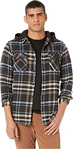 Essex Plaid Hooded Flannel