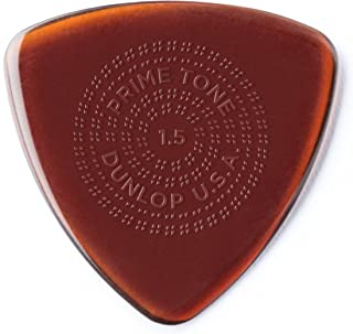 Dunlop Primetone Triangle 1.5mm Sculpted Plectra (Grip) - 3 Pack