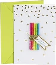 Hallmark Signature Birthday Card (Candle Bundle)