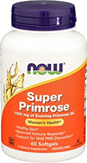 Now Super Primrose 1300 Mgdietary Suppliment, 60 Softgels
