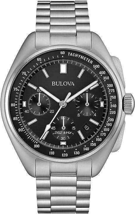 Orologio bulova mens edizione speciale luna cronografo in acciaio inox 96b258