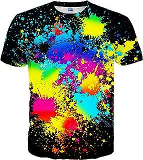 Unisex Casual 3D Print Short Sleeve T-Shirt Tees