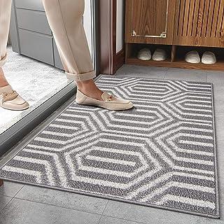 """SHACOS Large Indoor Doormat 32""""x48"""" Non Slip Entrance Rug Dirt Trapper Rug Washable Door Mat Door Rug Waterproof Floor Rug..."""