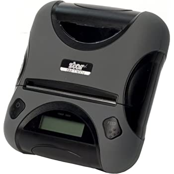 Star Micronics SM-T300i Ultra-Rugged Portable Bluetooth Receipt Printer with Tear Bar - Supports iOS, Android, Windows