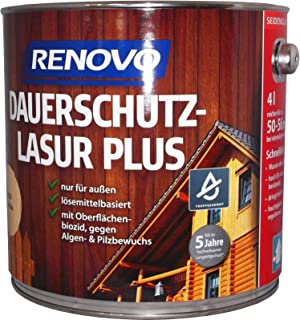Renovo Dauerschutzlasur Farblos 0,75 Liter Lasur Holzschutz 15,99 Euro/Liter