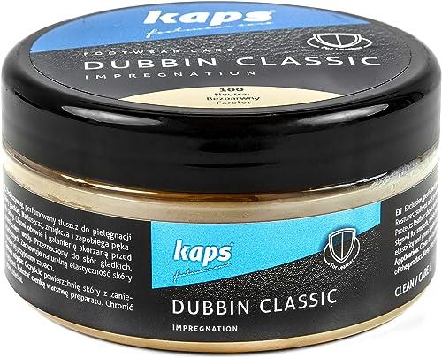 Kaps Graisse de Cire Dubbin Classic - Imperméable à l'eau ramollit et préserve Le Cuir - Laisse Un Parfum agréable - ...