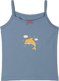 ANIMQUE Camiseta interior de verano para niños, de algodón, con diseño bonito