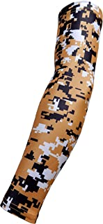 Youth & Adult Sizes Moisture Wicking Compression Arm Sleeve (1 Sleeve) (Over 100 Colors Available In Our Store)