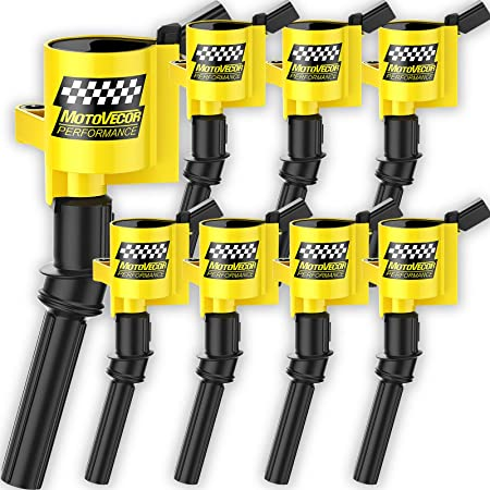 Set of 8 Ignition Coil Pack for Ford EXPEDITION EXPLORER F-150 F-250 F-350 F-450 CROWN VICTORIA E-150 E-250 E-350 E-450 MUSTANG THUNDERBIRD LINCOLN MERCURY 4.6L 5.4L V8 DG508 DG457
