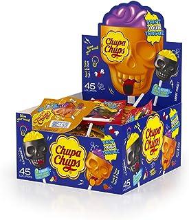 Chupa Chups Skull Lollipops, 45 Lollipops, 675 g