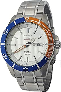 Seiko Sport 5 Stainless Steel Automatic Men's Watch SRP549J