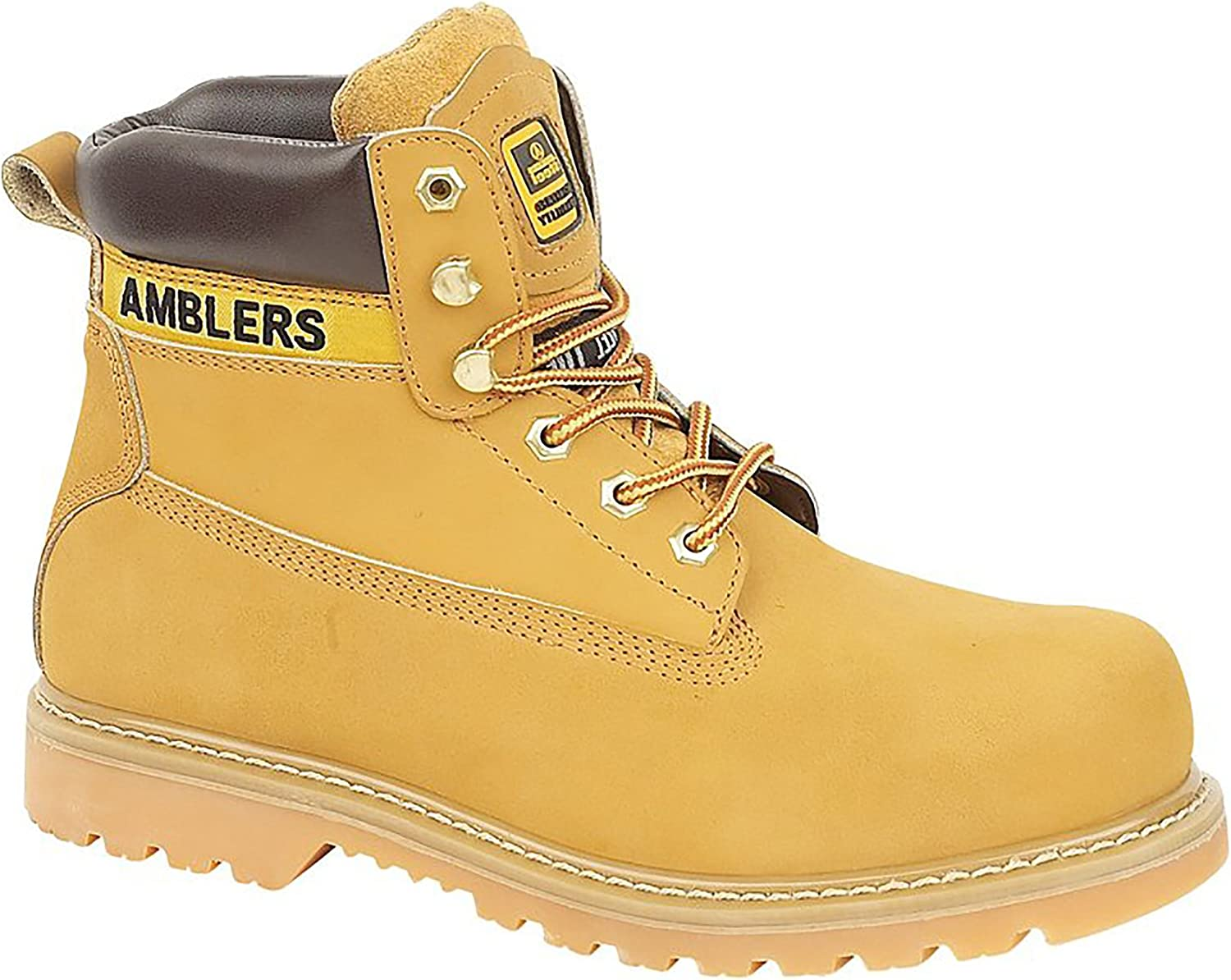 Amblers Steel FS7 Steel Toe Cap Boot   Womens Boots (8 US) (Honey)