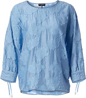 Karl Lagerfeld Paris Women's Burnout Lace Blouse