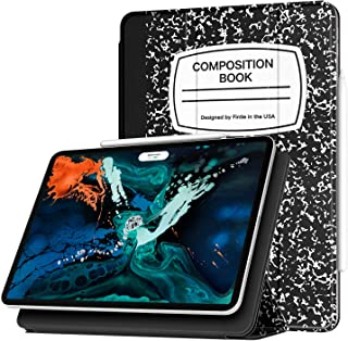 Fintie Slim Case for iPad Pro 12.9 2018 [Magnetic Attachment] [Supports 2nd Gen Pencil Charging Mode] - Lightweight Stand Cover with Auto Sleep/Wake for iPad Pro 12.9 3rd Gen, Composition Book